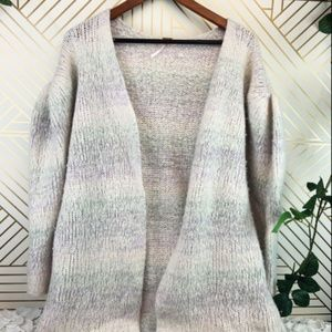 FREE PEOPLE Cashmere Blend Cardigan size M